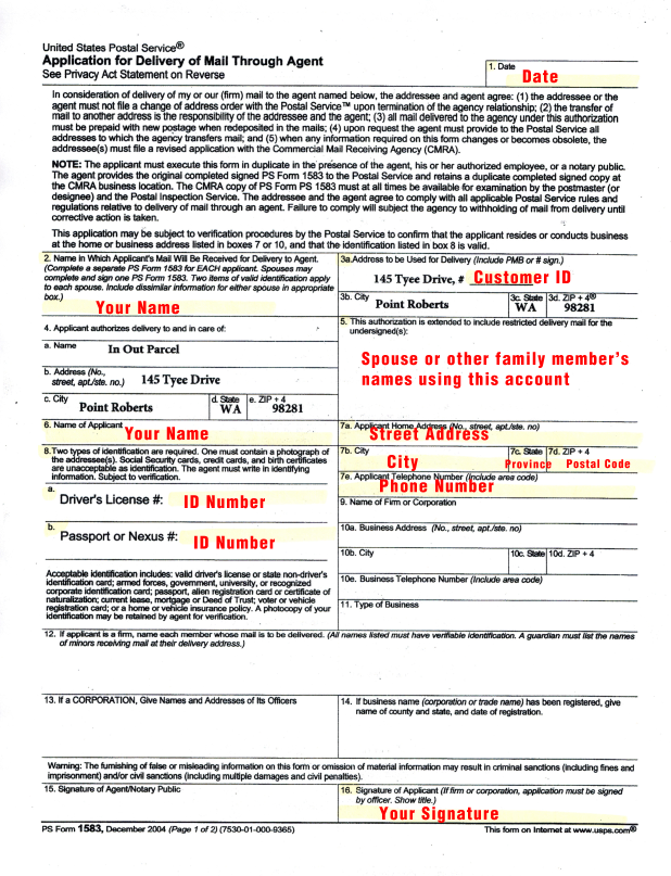 How to Complete the USPS Form 1583 in 3 Minutes